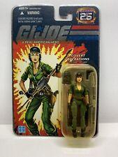 NEW Hasbro GI Joe 25th Anniversary Covert Operations Lady Jaye Foil SEALED