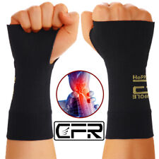Copper Wrist Support Hand Brace Compression Sleeve Arthritis Fit Carpal Tunnel