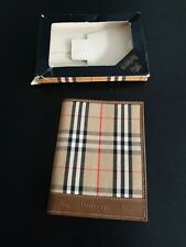 Burberry London Vintage Continental Unisex Wallet /purse.Black Brand new