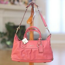 Coach handbags shoulderbags new with tags medium F15445 pink leather