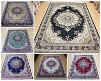 Traditional Persian Rug Silk Like Machine Washable Rugs & Runner Cheep Carpet