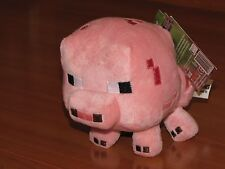 Minecraft Overworld Baby Pig Stuffed Plush Plushie Doll Series 1 Mojang - NEW!