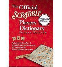 The Official Scrabble Players Dictionary by Merriam-Webster Inc. Paperback Book