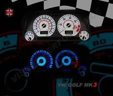 Volkswagen golf mk3 diesel speedo dash lighting bulb upgrade white dial kit