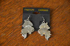 Sterling Silver Jewelry Earrings Native American Indian Horse Pony Head Mustang