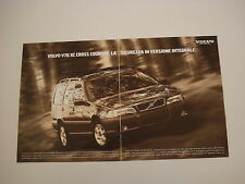 advertising Pubblicità 1998 VOLVO V70 V 70 XC CROSS COUNTRY