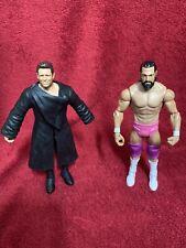 WWE The Miz And Damien Sandow Mizdow Wrestling Action Figure Bundle Mattel