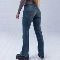 Levi's 518 Bootcut hellblau Damen Jeans DE 36 / W28 L32