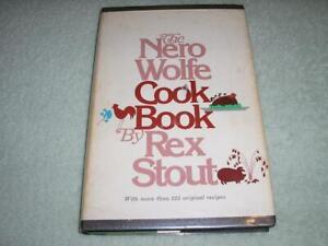 THE NERO WOLFE COOKBOOK by Rex Stout, 1973, hardback