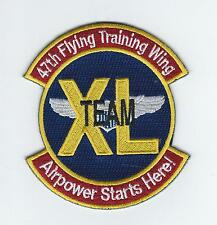 "47th FLYING TRAINING WING ""TEAM XL"" patch"