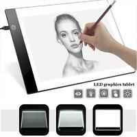 A5 USB LED Artist Tattoo Stencil Board Light Box Tracing Drawing Pad Art Display