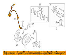 SUBARU OEM 00-04 Outback ABS Anti-lock Brakes-Front Speed Sensor 27540AE021