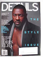 IDRIS ELBA September 2014 DETAILS Magazine THE KING OF INSTAGRAM