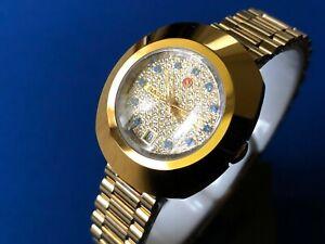Rado DiaStar Automatic The Original Steel Gold Dial Women's Watch ETA 2671