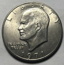 United States 1971 Eisenhower Large One Dollar Coin