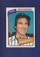 Rick Rhoden 1980 TOPPS Baseball #92 (MINT) Pittsburgh Pirates