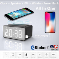 Bluetooth Speaker Wireless Charger Outdoor Stereo Bass USB/TF/FM Radio LOUD