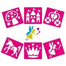 Fairy Stencils Pack of 6 Kids Craft Drawing AP/2301/WSF