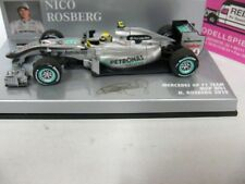 1/43 Minichamps Mercedes GP f1 équipe MGP w01 N. rosberg 2010 410100004