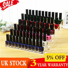 UK 6 TIER Nail Polish Bottle Organizer Display Retail Stand Cosmetic Rack Holder