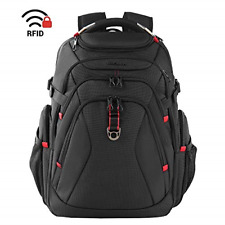 KROSER Travel Laptop Backpack 17.3 Inch XL Heavy Duty Computer Backpack with Bag