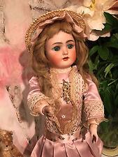 Antique Bisque Doll Simon HAlbig Heinrich Handwerck German doll 40  cm