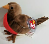"TY Beanie Babies ""EARLY"" the ROBIN Bird - MWMTs! RETIRED! PERFECT GIFT! MINT"