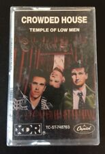 CROWDED HOUSE 'TEMPLE OF LOW MEN'  Cassette Tape Album