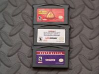Lot Nintendo Game Boy Advance GBA Games Majesco Rec Room challenge,Namco Museum+