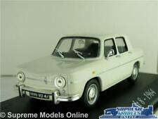 RENAULT 8 MODEL CAR 1:43 SCALE IXO WHITE 1964 SALOON 4 DOOR K8