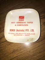 Vtg Denso Australia Made In Italy Ashtray Plate Tapes Compounds Brisbane 1970s