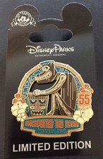Disney Disneyland 55th Enchanted Tiki Room Drummer Cast Exclusive LE 500 Pin