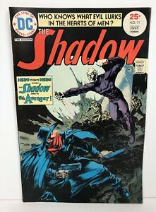 The Shadow #11 (July 1975, DC) w/ The Avenger VF