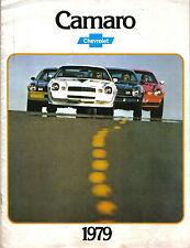 Chevrolet Camaro Berlinetta Sport Rally Sport Z28 1978-79 Canadian Brochure