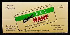 Full Box 25 Packs Elvira Hanf Gummed Cigarette Rolling Papers Free Shipping