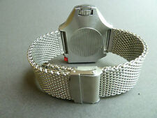 DIVERS SHARK MESH BRACELET/BAND/STRAP FOR OMEGA PLOPROF SEAMASTER 600 WATCH.24MM