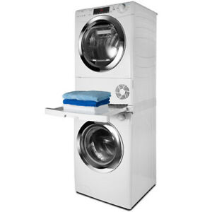 HOOVER CANDY Stacking Kit Washing Machine + Tumble Dryer Sliding Shelf Stacker