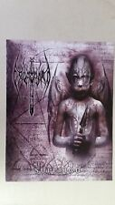 """EXCOMMUNION """"Superion"""" full page sell sheet death metal Morbid Angel deteriorot"""