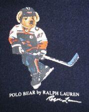 Ralph Lauren Polo Bear Baby Boys Navy Hoodie  Size 6M