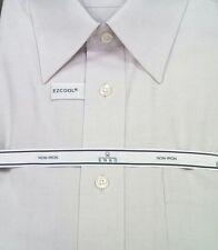 ENRO Dress Shirt 100% Cotton Non-Iron Pinpoint Point Collar $88 NWT 17-34/35