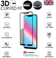 For Huawei Honor Play Genuine Full 3D Tempered Glass 9H Screen Protector Cover