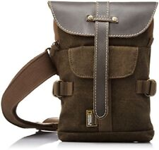 National Geographic Small Sling Camera Bag Africa Collection Brown Canvas