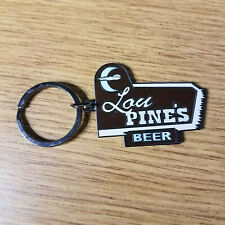 True Blood Lou Pine's Beer Metal Keychain 2010