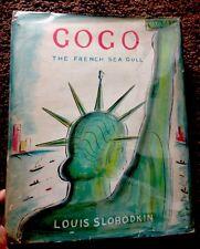 Gogo The French Sea Gull Louis Slobodkin 1960 1st Printing Hardcover W/ DJ Illus