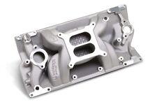 Weiand SBC Aluminum Intake Speed Warrior Vortec L31 350 383 Open Intake Plenum