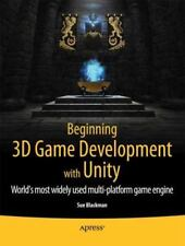 Beginning 3D Game Development with Unity (Paperback or Softback)