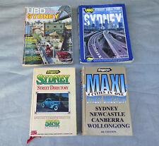 SYDNEY Vintage Street Directory UBD 1983 1996 Gregory's 1987 Maxi 1990 Newcastle