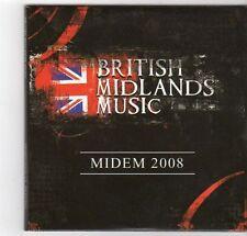 (EZ534) British Midlands Music, Midem 2008, 30 tracks various artists - DJ CDs