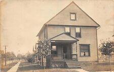 Real Photo Postcard House 422 Stiles Avenue in Warren, Ohio~112794
