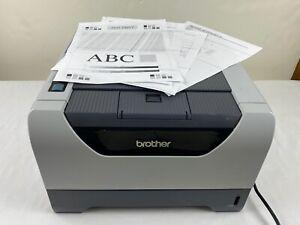 Brother HL-5370DW Wireless Monochrome Black / White Laser Duplex Printer TESTED